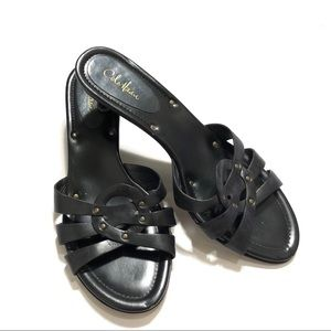 Cole Haan Strappy Studded Sandals 9.5